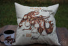 Gypsy Horse Pillow Cover - Have Courage and Be Kind