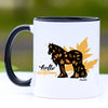 Hello Autumn Fall Gypsy Horse Coffee Mug - 11 oz
