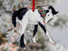 Gypsy Vanner Horse Christmas Ornament - Gypsy Foal V