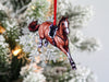 Jumping Horse Ornaments - Chestnut Hunter Jumper