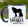 Leave a Little Sparkle, Gypsy Horse Coffee Mug - 11 oz
