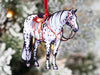 Spotted Few Spot Appaloosa Western Ranch Horse Ornament
