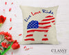 Gypsy Horse Pillow Cover - Live Love Ride