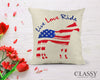 Quarter Horse Pillow Cover -  Live Love Ride