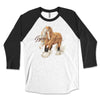 Gypsy Spice and Everything Nice - Fall Gypsy Horse Raglan Tee