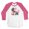 Gypsy Horse Breast Cancer Awareness - Gypsy Horse 3/4 Sleeve Raglan Shirt