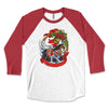 Gypsy Vanner Horse Christmas Winter Raglan Tee