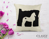Horse Pillow Cover - State Love Horse Breed