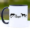 Horse Love Coffee Mug - 11 oz
