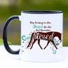 Horse Mug - Remember How Blessed