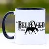 She Believed She Could So She Did, Motivational Horse Mug, 11 oz