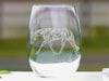 Tribal Western or English Pleasure Quarter Horse Wine Glasses - Stemless, 20 oz.