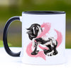 Breast Cancer Awareness Gypsy Horse Coffee Mug - 11 oz