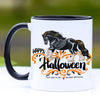 Happy Halloween Gypsy Horse Coffee Mug - 11 oz