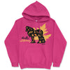Hello Autumn Gypsy Horse Hooded Sweatshirt - Available in Blue or Pink
