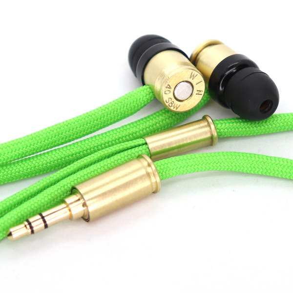 Double Tap R1 & R1M Headphones - Neon Green