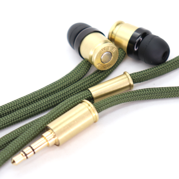 Double Tap R1 Headphones - Olive Drab