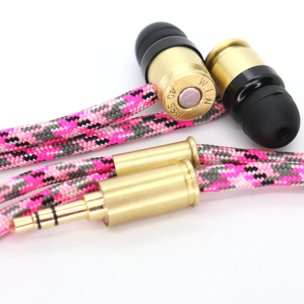 Double Tap R1 & R1M Headphones - Pink Camo