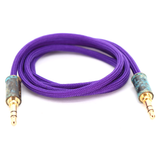 Double Tap Auxiliary Cable - Acid Purple