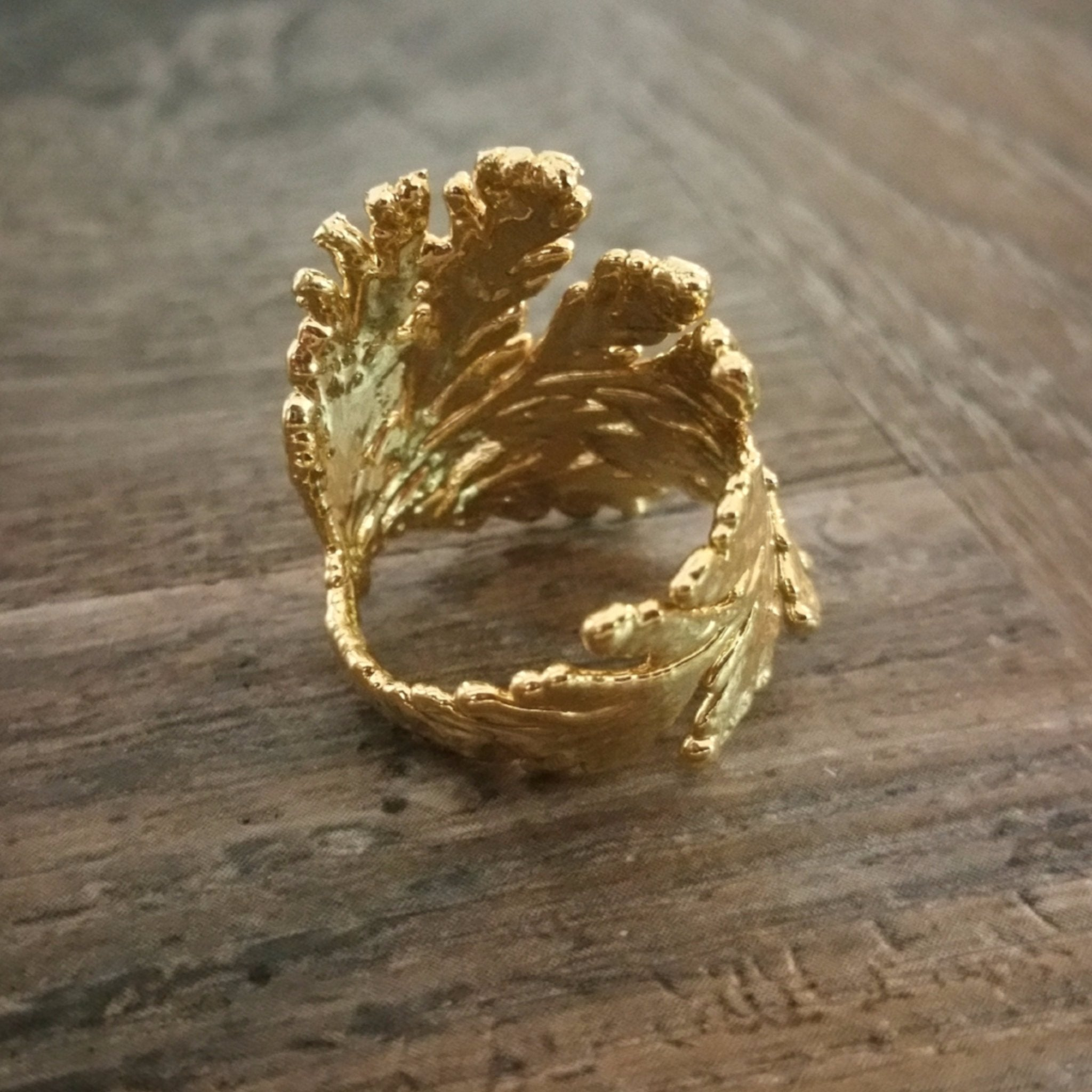 Ring Made With Portuguese Lace Simply Nature Bio Goods