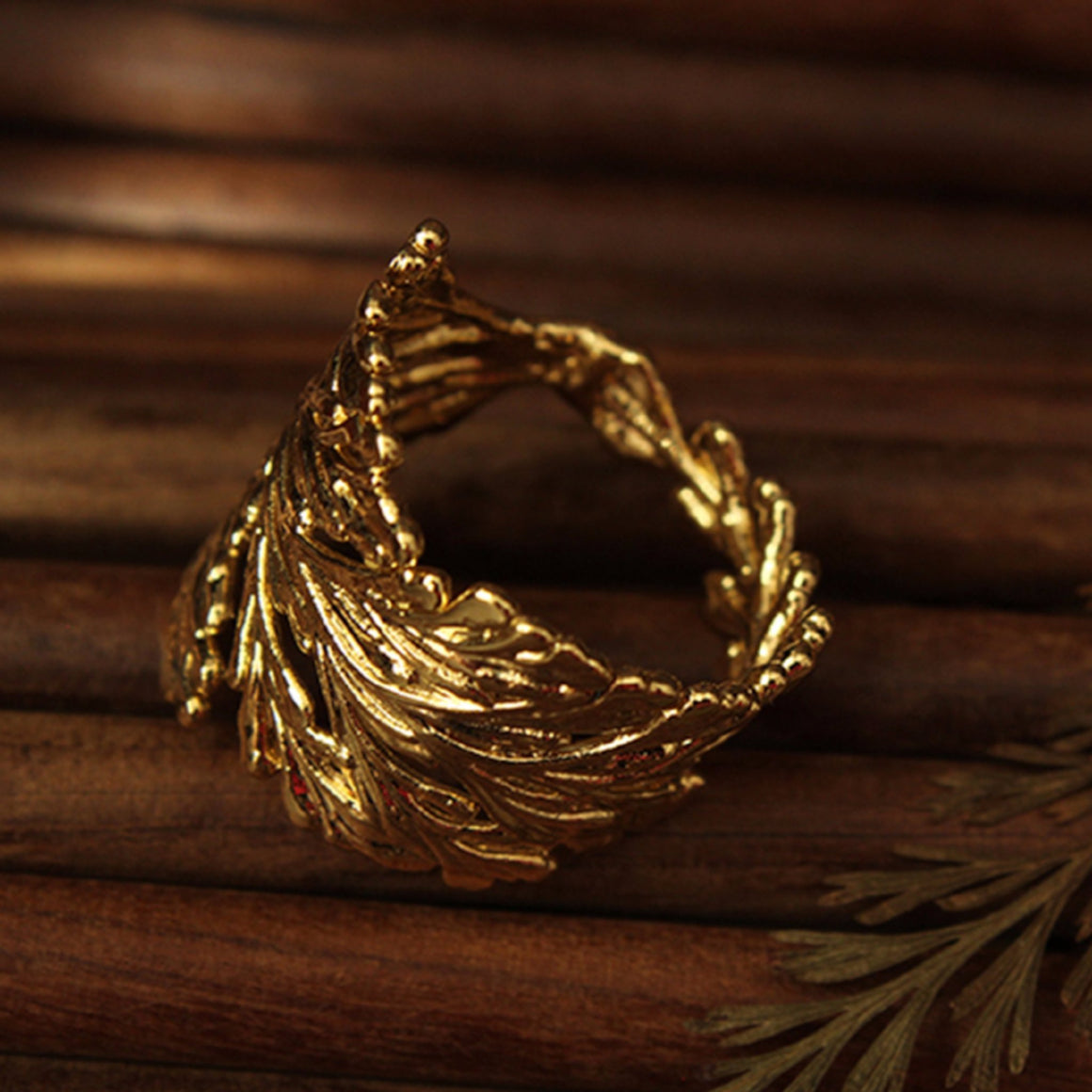 Ring made with Portuguese Lace - Simply Nature Bio Goods