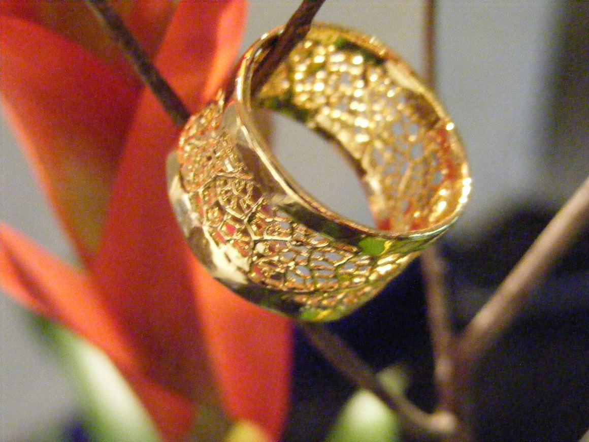 Wedding Ring made with Cerrado tree - Simply Nature Bio Goods