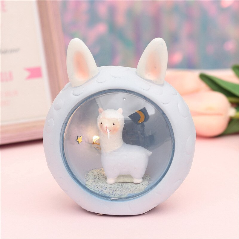Alpaca Kawaii Lamp