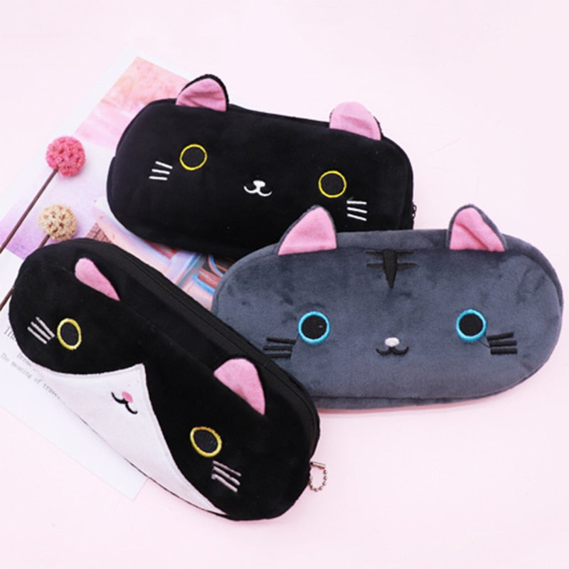 Japanese Cat Pencil Case Stationery