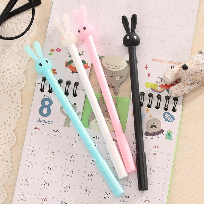 Cute Rabbit 4 Pen Set