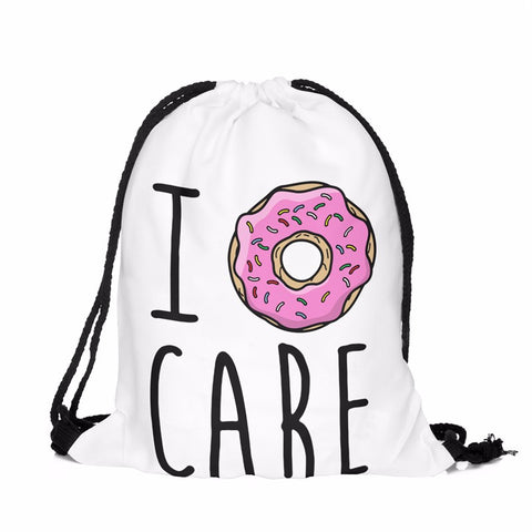 Donut Drawstring Bag