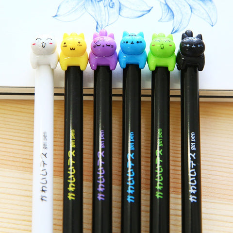 8 Pack Kitty Cat Pen Set