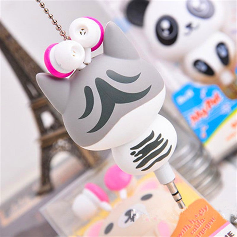 Cute Cat Earphones