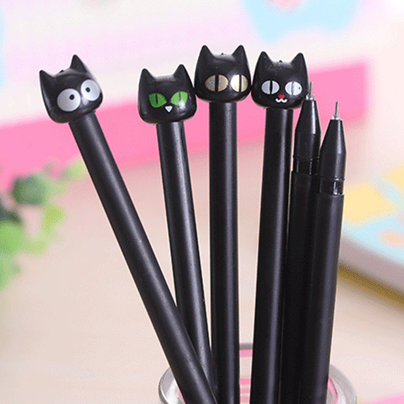 8 Pack Cat Gel Pen