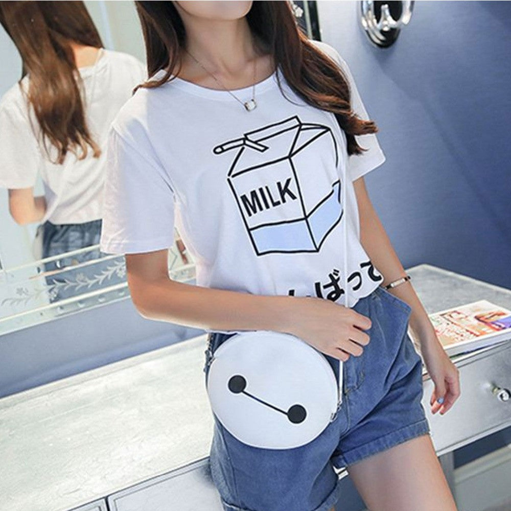 Kawaii Milk Box T-Shirt