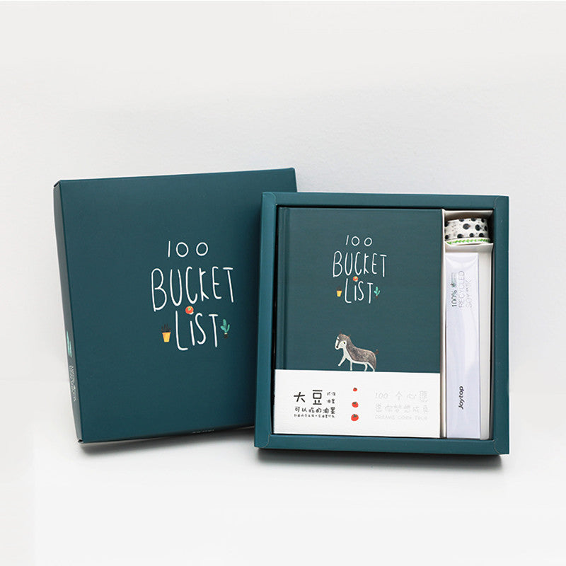 100 Bucket List Planner Box