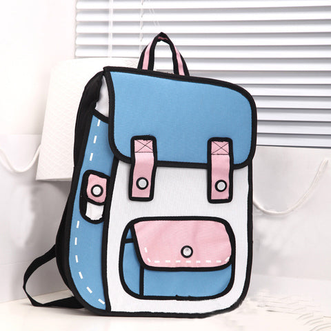 2D Backpack