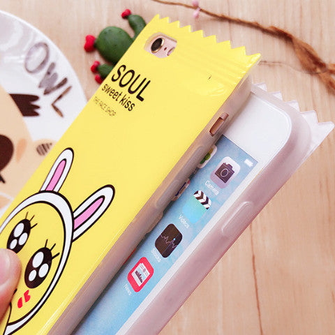 Kawaii Novelty iPhone Case