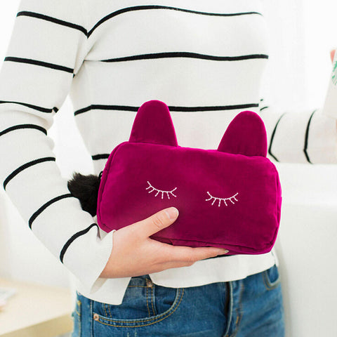 Kawaii Cat Cosmetic Make up Bag