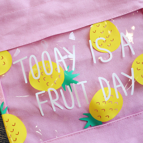 Today is a fruit day bag