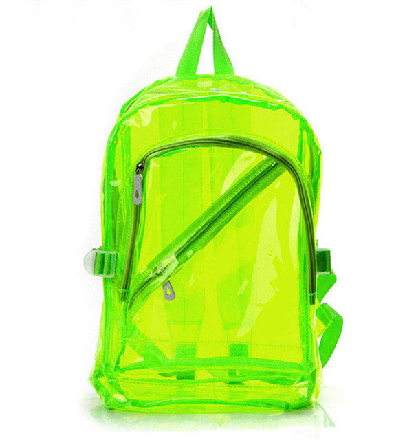 Transparent Japanese Backpack