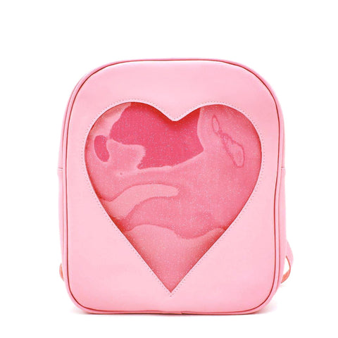 Cute Candy Color Heart Backpack