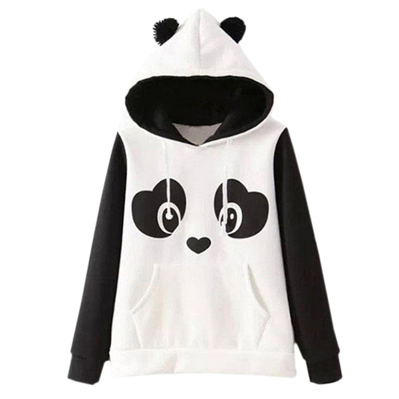 Cute Panda Hoodie Kawaii Berry Shop