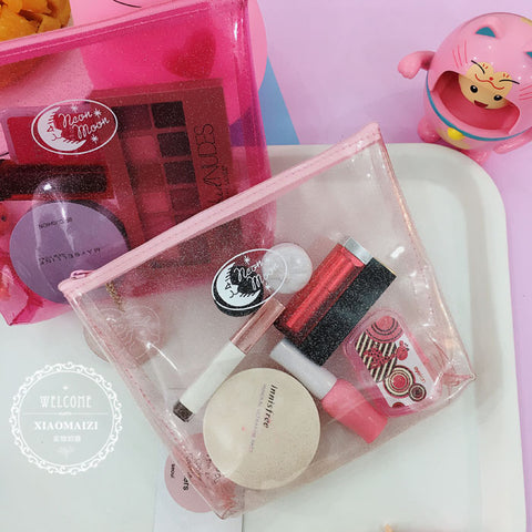 Cute Moon Beauty Bag
