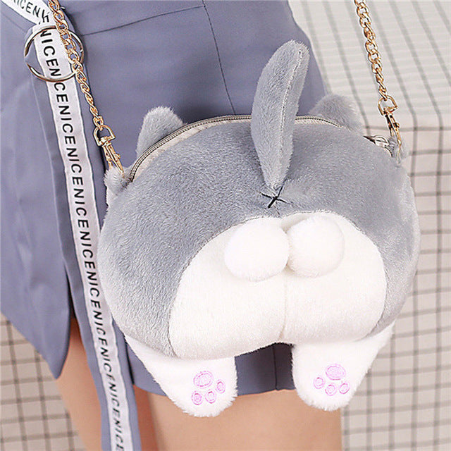 Kawaii Neko Cat Butt Messenger Bag