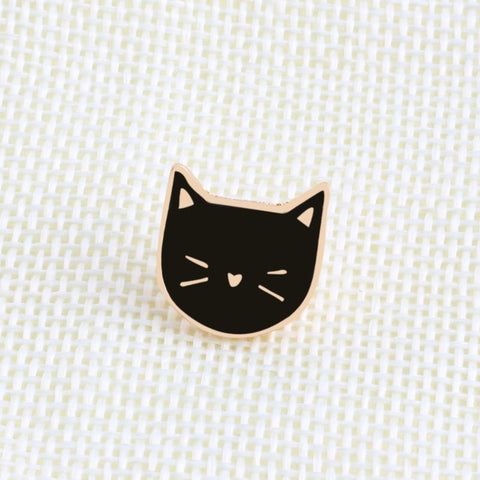 Cute Cat Brooch - 2 Set