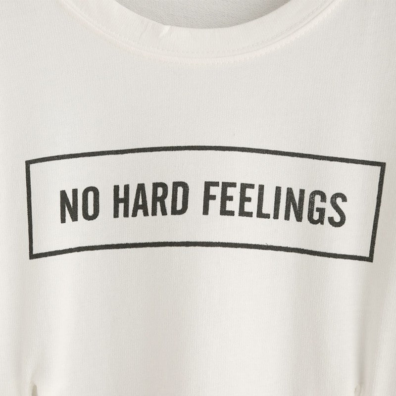 No Hard Feelings Crop Top
