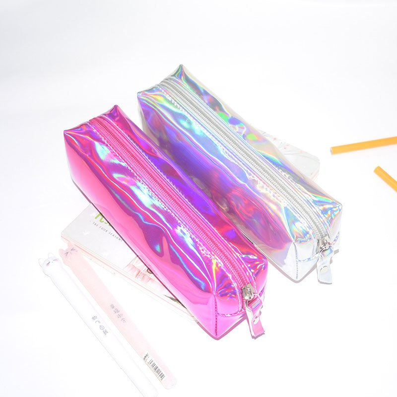 Holographic Pencil Bag