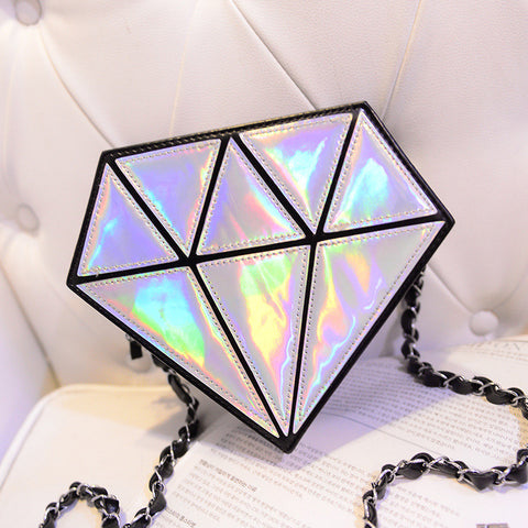 3D Holographic Diamond bag