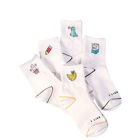Cute Illustrated socks