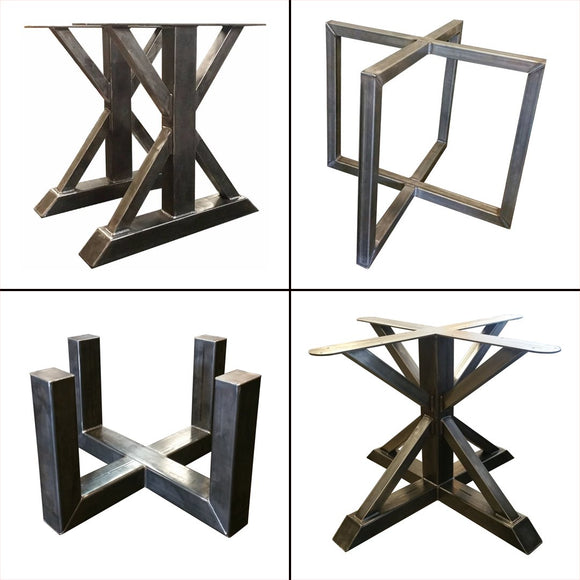 Heavy duty metal dining table legs